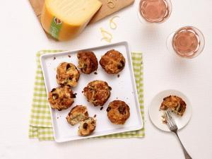 Graskäse-Muffins